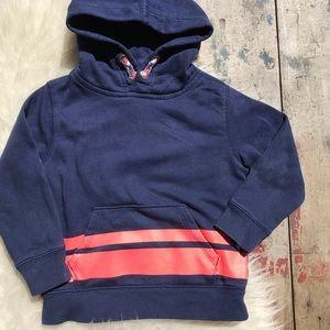 Baby gap blue & orange hoodie Sz 4
